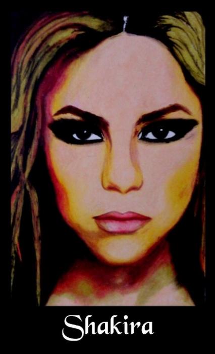 Shakira by sanjulkm